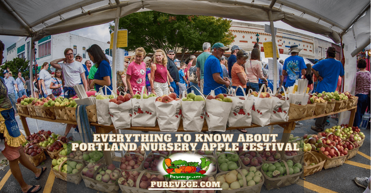 Portland Nursery Apple Festival
