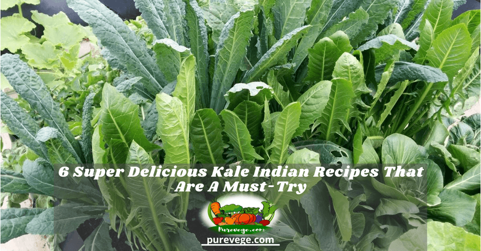 kale Indian recipes