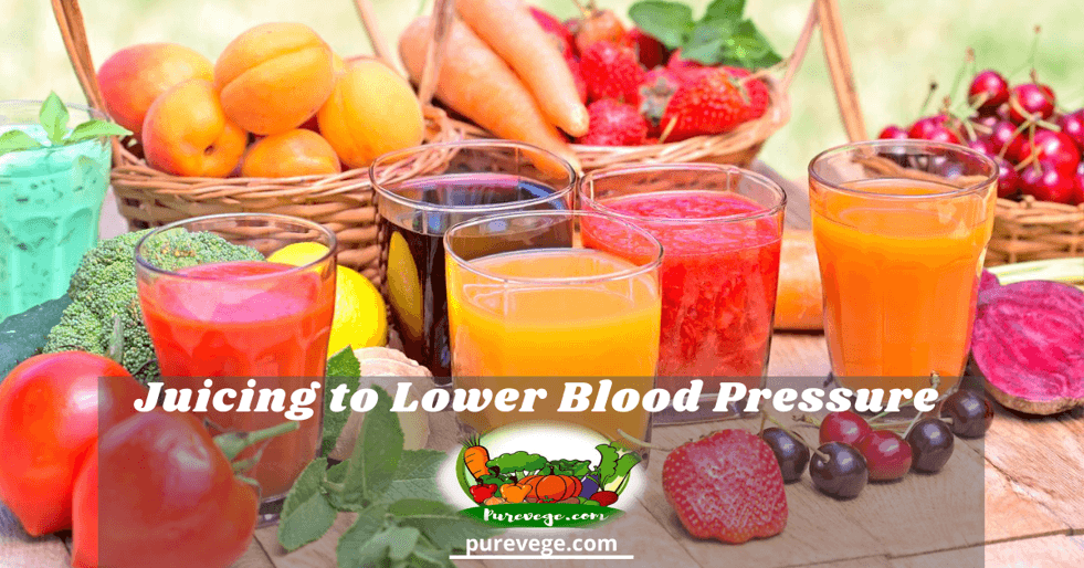 juicing to lower blood pressure