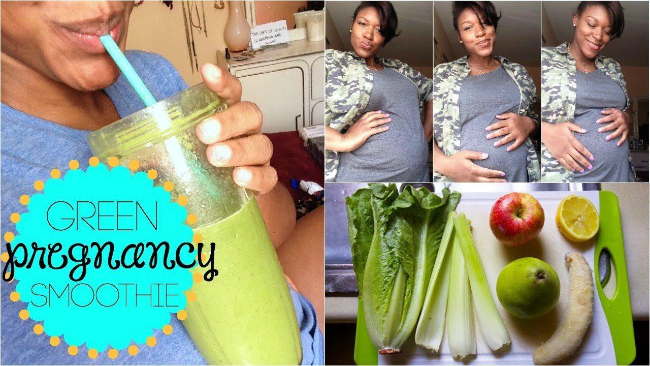 pregnancy smoothie