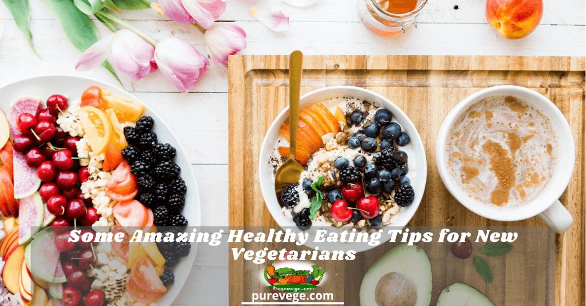 tips for new vegetarians