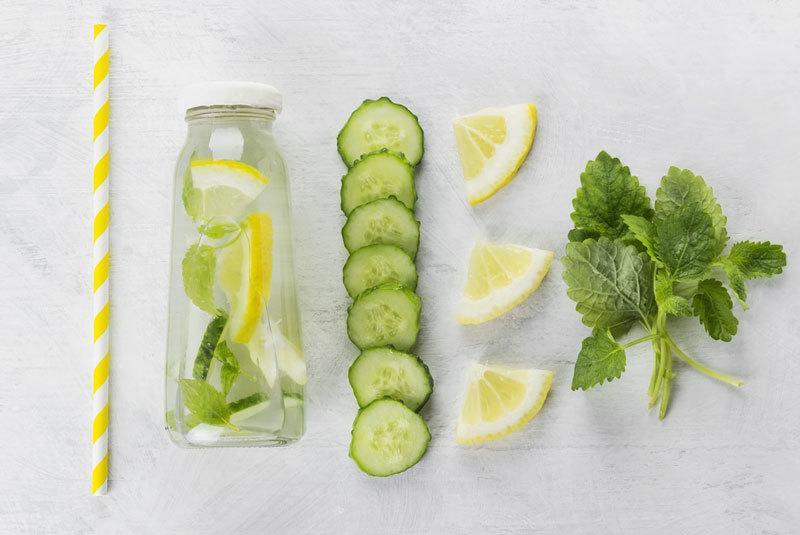 lemon cucumber mint water weight loss