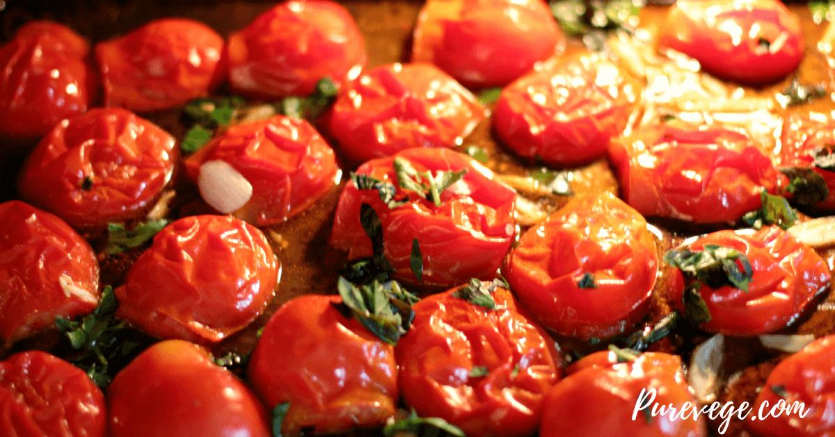 baked garden rolls in tomato sauce