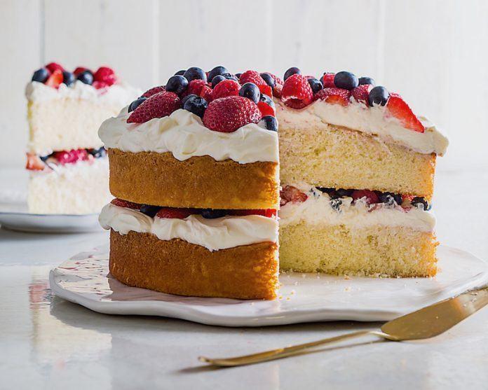 how to make berry cake recipe