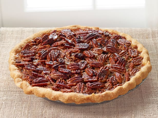 fig tart and frozon pecan pudding