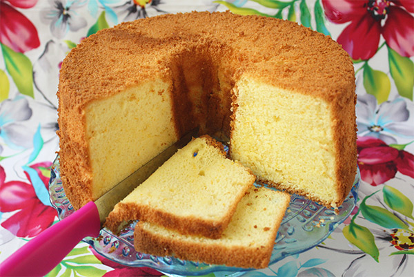 citrus chiffon cake recipe